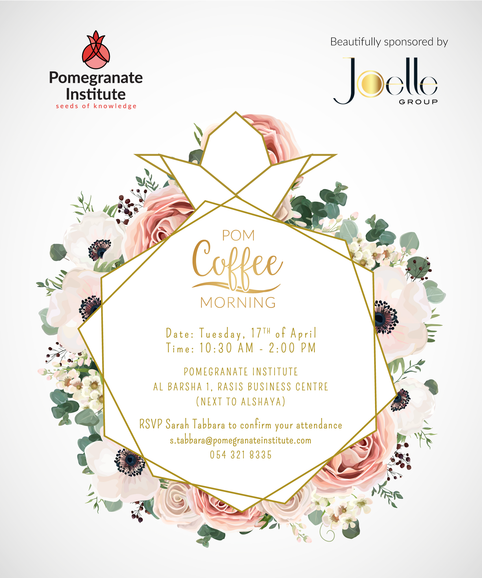 POM-Coffee Morning | Pomegranate Institute
