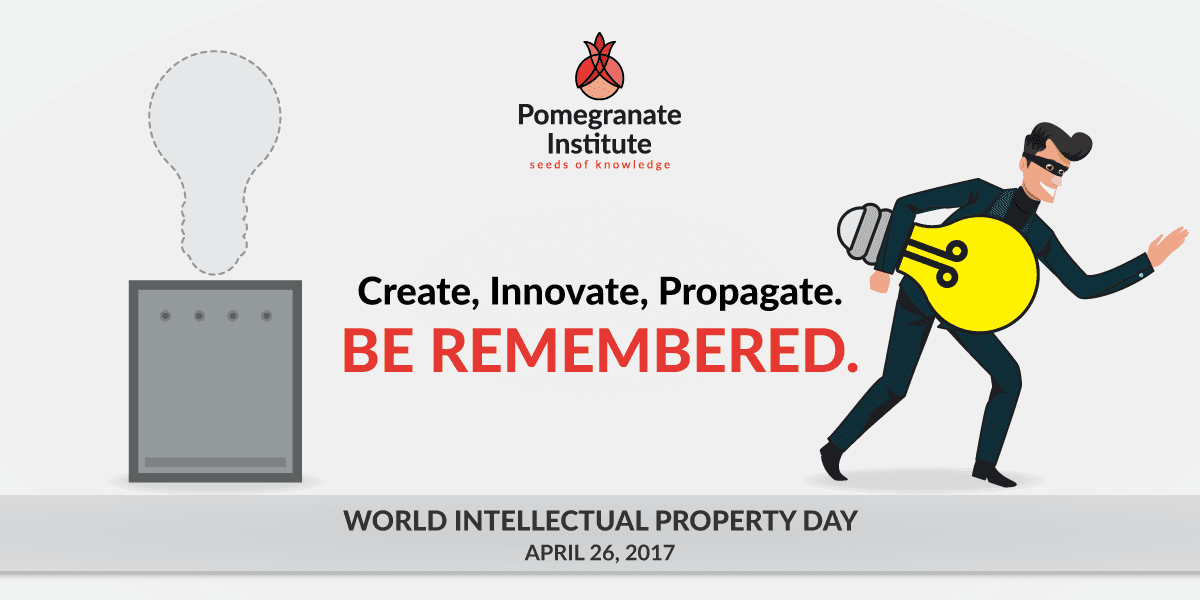 Create, Innovate, Propagate. Be Remembered