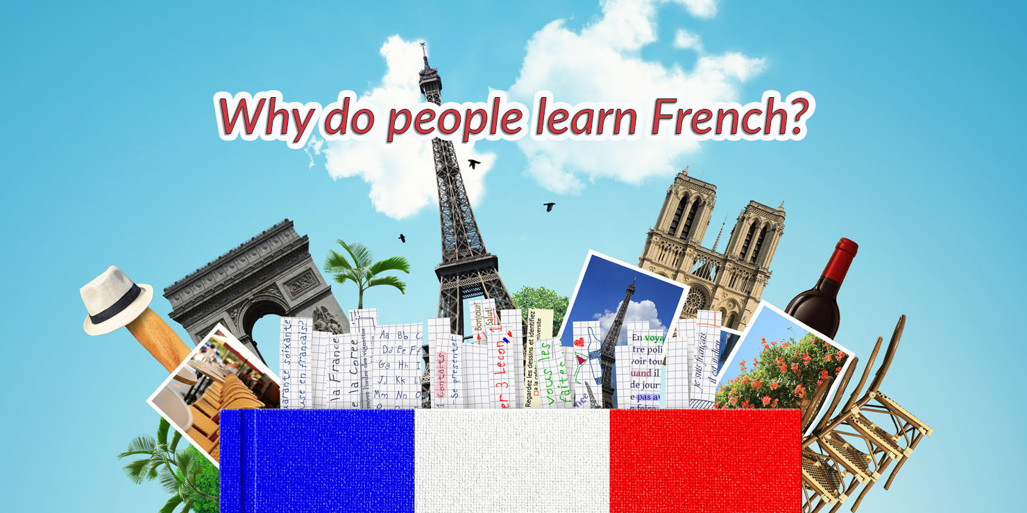 Why do people learn French?