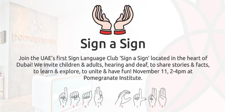 Sign a Sign Club