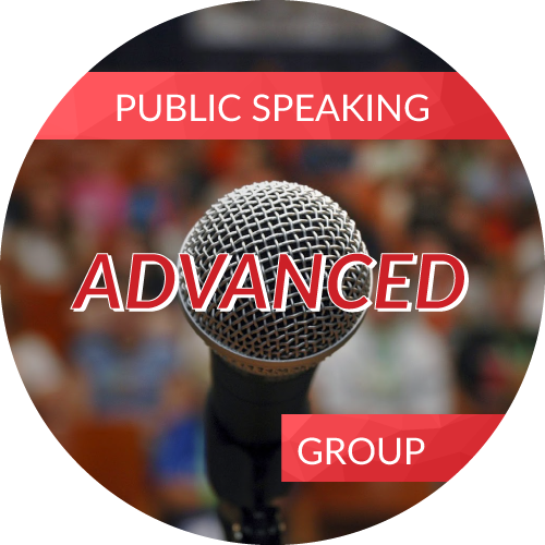 Public Speaking – Advanced<br/>Advanced