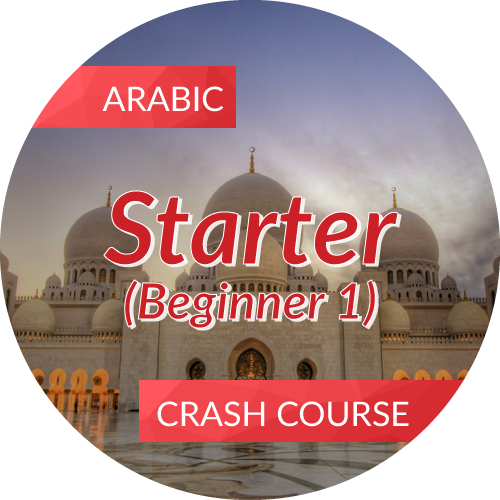 Arabic<br/>Crash Course - Starter (Beginner 1)