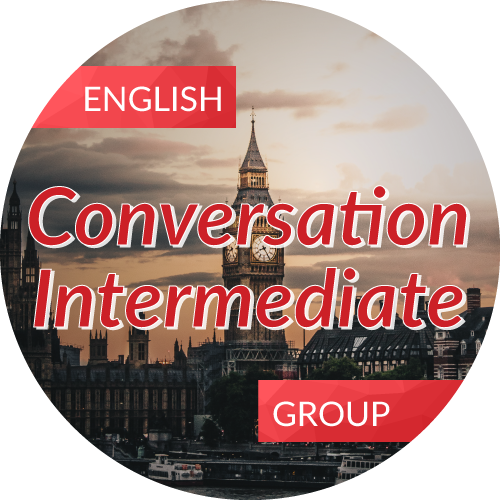 English<br/>Conversation - Intermediate