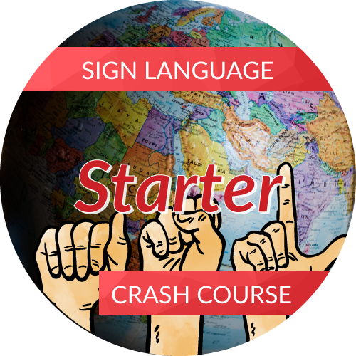 Sign Language<br/>Crash Course - Starter (Beginner 1)
