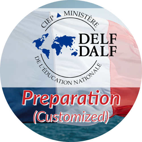 DELF  Preparation<br/>Customized