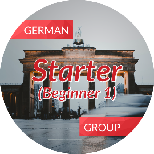 German<br/>Starter (Beginner 1)